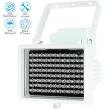 60 м 96 светодио дный s 12 В в м 60 м ночное видение ИК инфракрасный осветитель свет светодио дный лампы светодиодный вспомогательное освещение водонепроница для безопасности CCTV камера