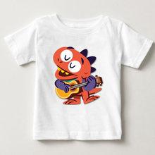 Лето 2020 Детские футболки для мальчиков раньше с динозаврами