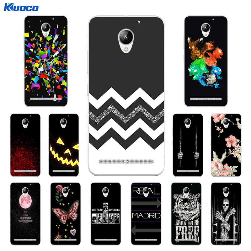 for Lenovo Vibe C2 K10A40 Case Character Printing TPU Case Cover for Lenovo C2 Phone Case Silicon Phone Protective Fundas ...