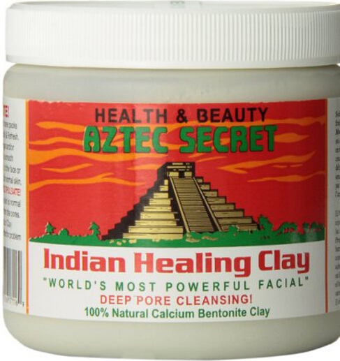 Aztec Secret Indian Clay Mask Indian God clay cleansing mask powder India God clay green mud /454g цена 2017