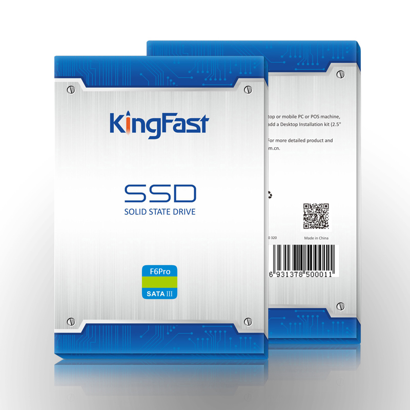 Lot of 2 KingFast F6PRO 120GB Solid State Drive