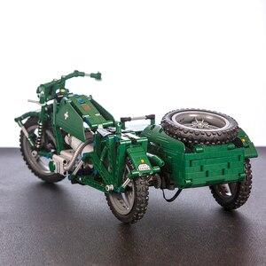 Image 4 - CaDA di Controllo Remoto Del Motociclo Arma Militare Seires Blocchi di Costruzione di Modello Technic Giocattoli Per Bambini del Regalo Dei Bambini con la Scatola originale