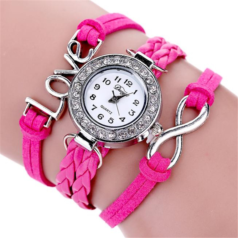 Brand designer bracelet girl watch women luxury watch montre femme luxury casual brand hot gift for Watches brands for girl
