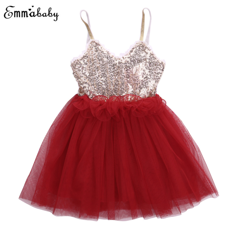 3D   Flower     Girls     Dress   Sequins Baby   Girl     Dress   Lace Tulle Party Gown Formal Bridesmaid Mesh   Dresses   Sleeveless Sundress Clothing