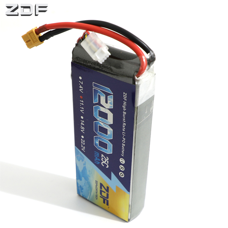 ZDF lipo battery 11.1V 12000mAh 25C 50C RC Lipo 3S Battery For RC Helicopter Drone AKKU Airplane FPV  Car Boat Lipoly Bateria