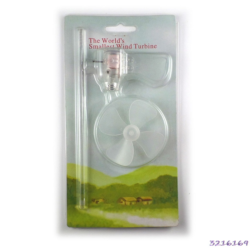 Smallest Mini Wind Turbines Generator LED Teaching Tools Sample Model HotSmallest Mini Wind Turbines Generator LED Teaching Tools Sample Model Hot