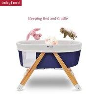 Чехол кроватки Европейская детская кровать многофункциональный шейкер Детская кровать складной портативный путешествия колыбель кровать