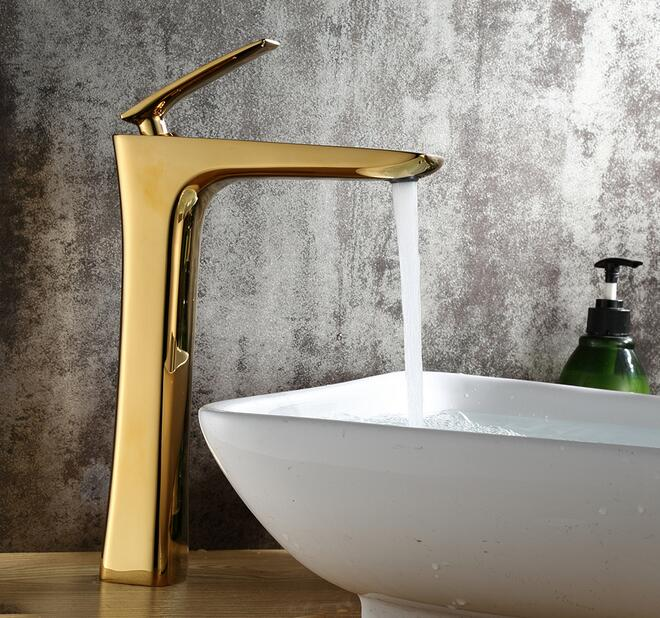 Gold Color Bathroom Basin Faucet bathroom single handle hot and cold water mix taps bathroom washbasin tap accessories casio g shock g classic ga 100a 9a