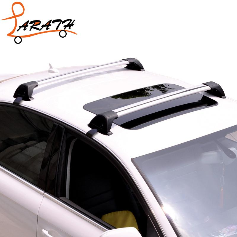 LARATH Bike Rack Universal Fits Car Roof Racks Cross Bars Anti Theft Lock  System Snowboard