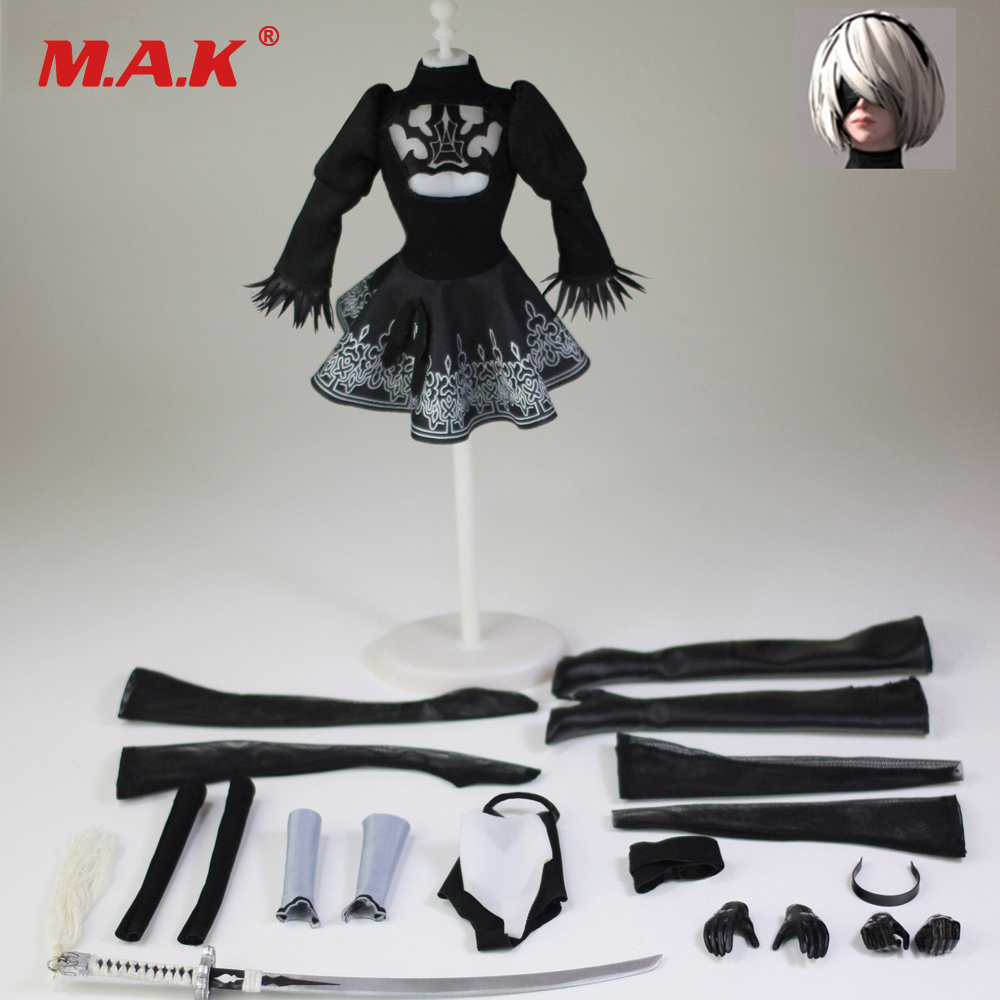 """1//6 TYM022 Girl Skirt 2B Dress Clothing Figure Collection Fit 12/"""" Female Body"""