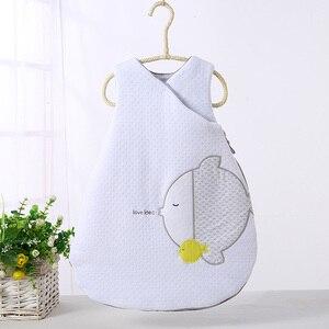 Image 1 - ベビー寝袋ロングジッパー幼児ベビー袋ベビー冬寝袋子供服パジャマ新生児漫画寝袋