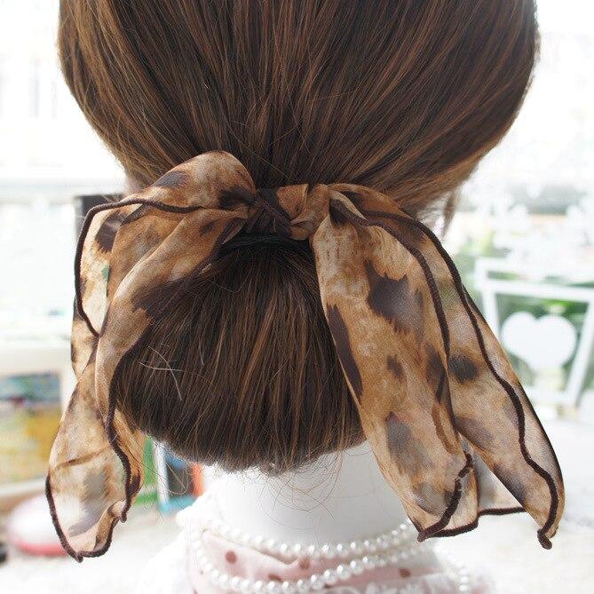 fashion elegant big bowknot elastic