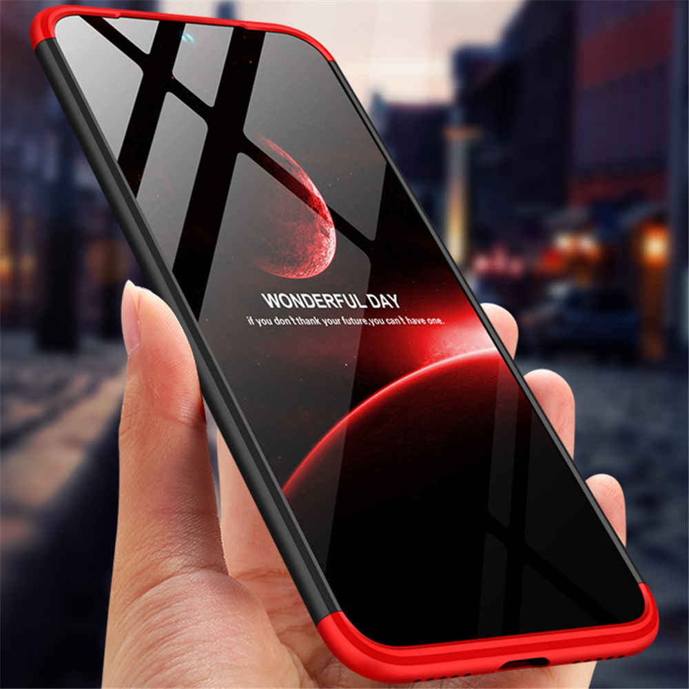 Hard PC Case For Xiaomi Redmi 7 Case 360 Shockproof 3 in 1 Full Protection Phone Cases For Redmi Note 7 Pro Case Back Cover