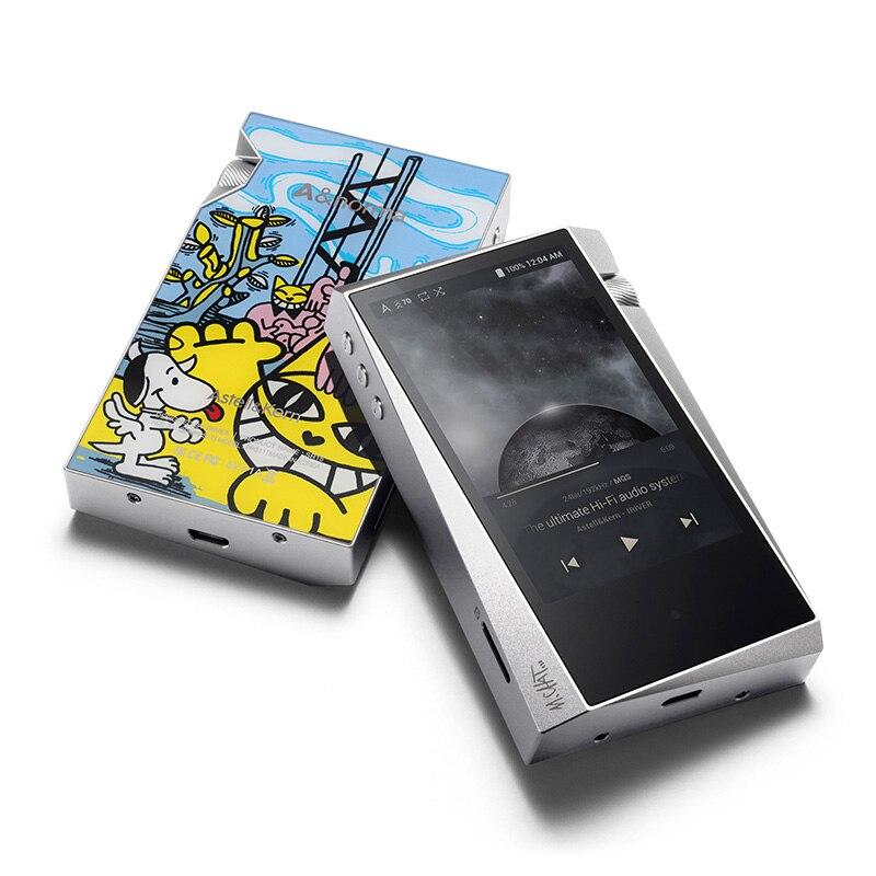 IRIVER A & norma SR15 128G Portable hifi lecteur Haute Résolution Lecteur Audio Sans Perte musique MP3 Cadeau spécial personnalisé cas en cuir