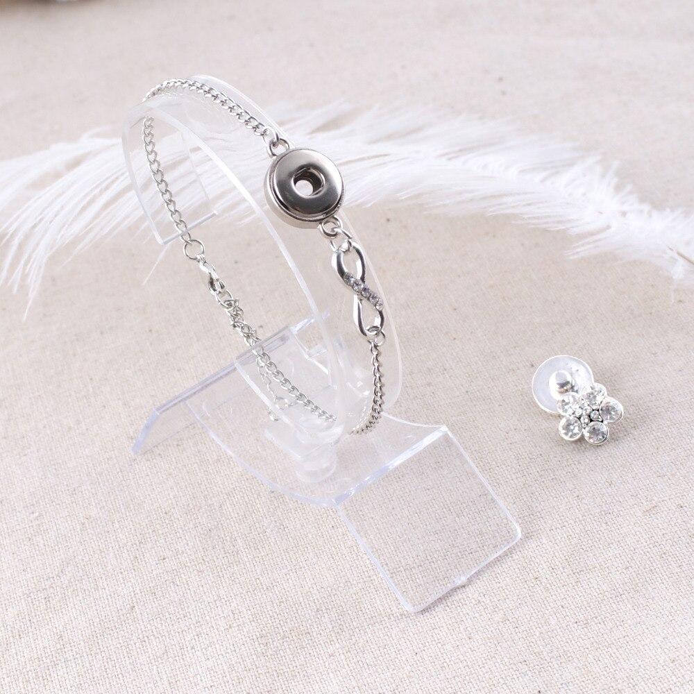 2018 Fashion Vintage Endless Snap Bracelet & Bangles Jewelry Mini - Նորաձև զարդեր