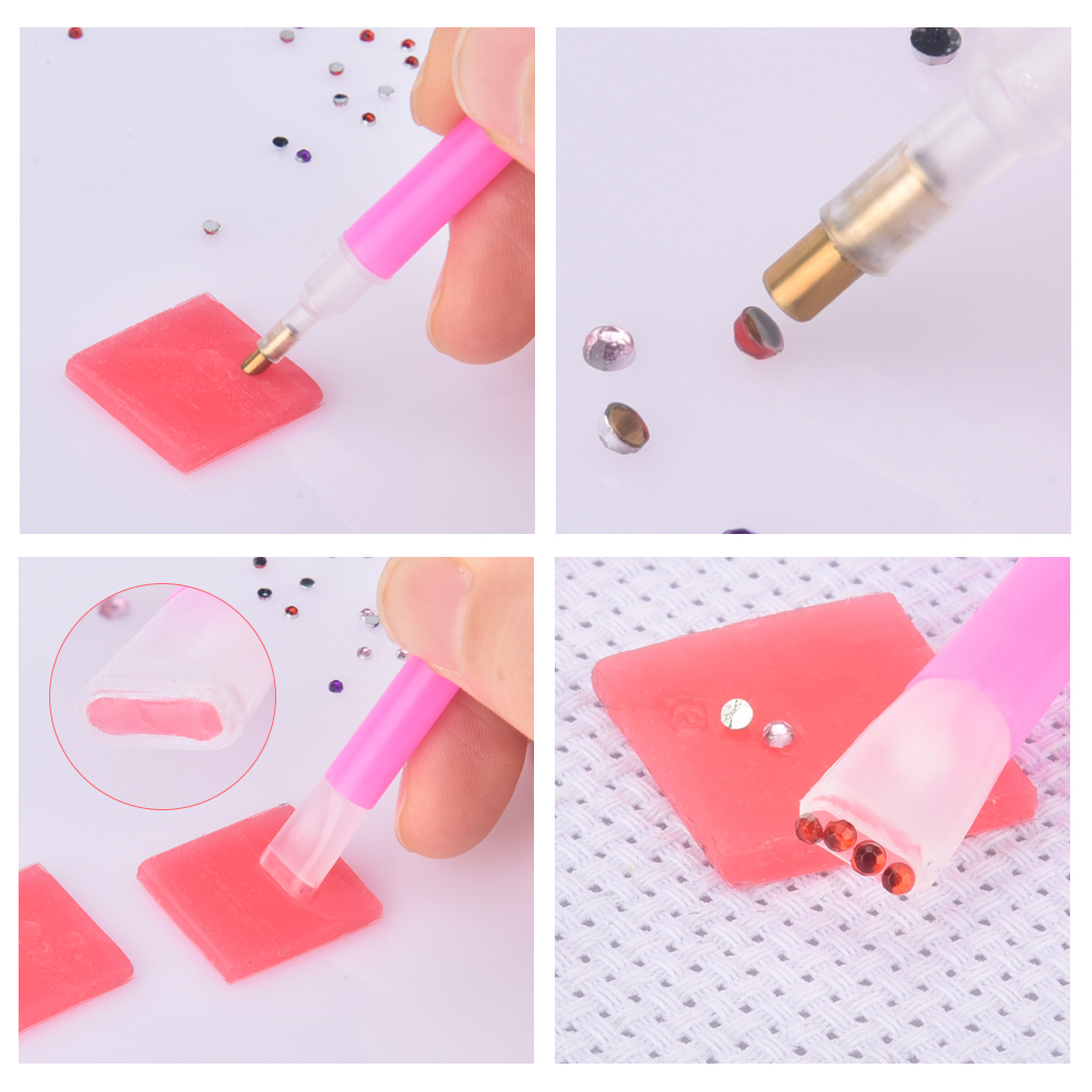 Drilling Mud Glue Clay Tool Diamond Painting Sticky Wax Embroidery Glue With BWM
