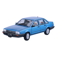 FX1 18 Shanghai Volkswagen Santana Classic Poussin Alloy Static Simulation Vehicle Model Toy