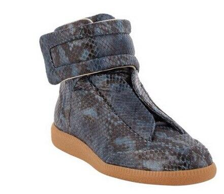 Maison Martin margiela sneakers high help Snake skin leisure men shoes 39-47 - good seller 1 store