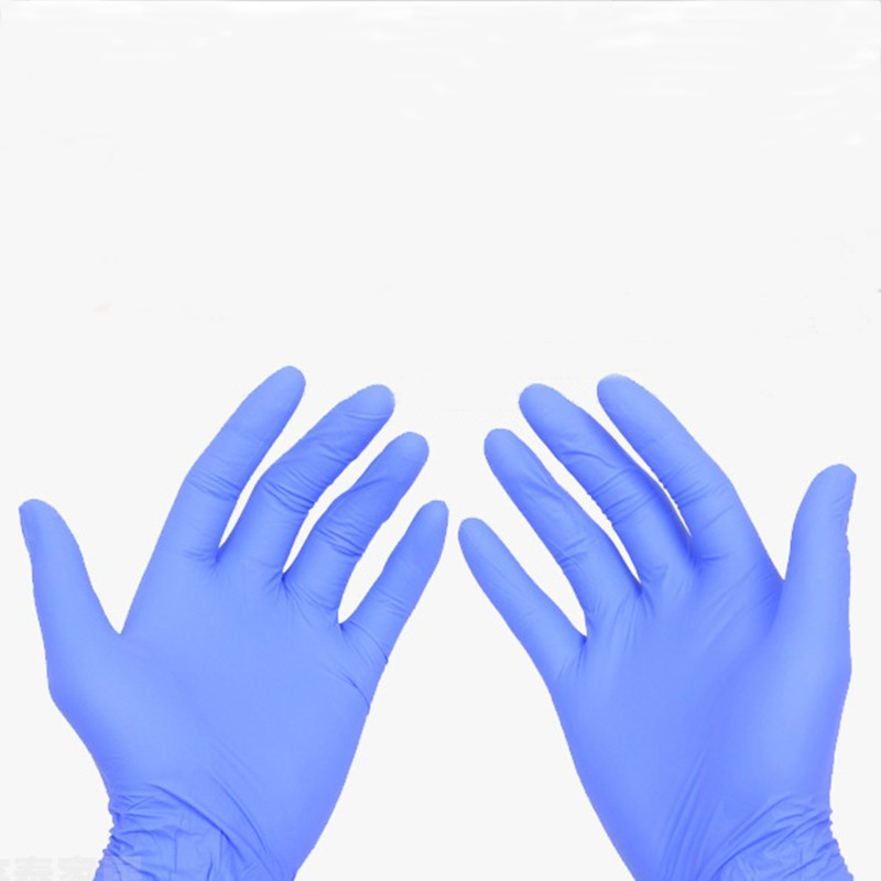 (XL) 50Pairs Sterilized Latex Rubber Nitrile Purple Blue Disposable Tattoo Gloves New Tattoo Accessories accessoire de tatoo 16