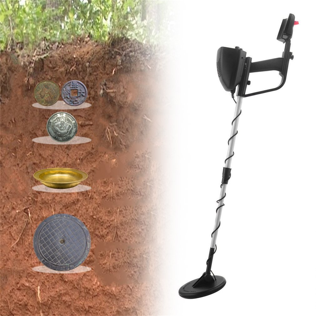 Professional MD-4030 Portable Lightweight Underground Metal Detector Adjustable Gold Detectors Treasure Hunter Tracker Seeker