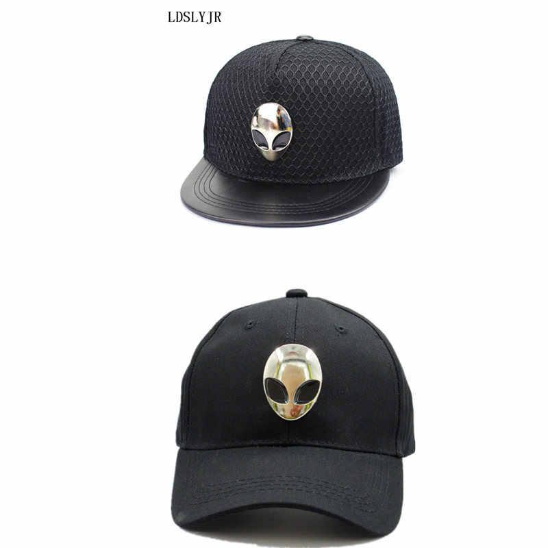 LDSLYJR 2017 cotton metal Alien hip-hop cap Adjustable baseball cap hip-hop cap snapback cap hats for kids and adult 01