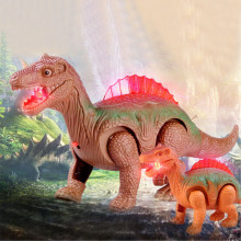 Elettronico Walking Robot Dinosauro Modello Giocattolo Per Bambini da Regalo Light Up Luminosi Dinosauro(China)