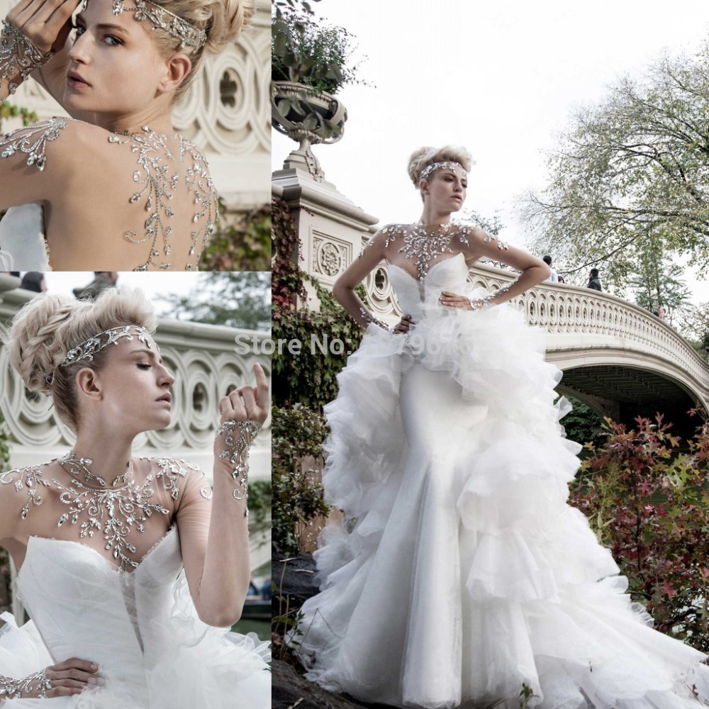 Aliexpresscom Buy Expensive Gorgeous Brand Bridal Dresses