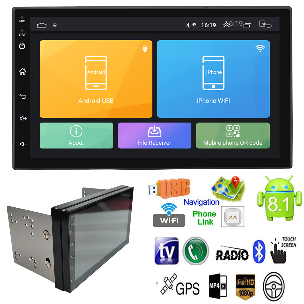 2 Din Android Car Radio Universal GPS Navigation Bluetooth 7 inch 1024*600 Car Audio Stereo FM USB Car Multimedia MP5 Player2 Din Android Car Radio Universal GPS Navigation Bluetooth 7 inch 1024*600 Car Audio Stereo FM USB Car Multimedia MP5 Player