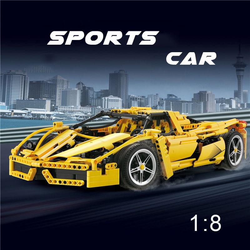 Oyuncaklar ve Hobi Ürünleri'ten Bloklar'de Yeni 1367 ADET Teknik Formülü Hız Şampiyonları Racer F1 Araba Modeli 1:8 Yapı Taşları Tuğla MOC DIY Eğitici Oyuncaklar çocuk'da  Grup 1