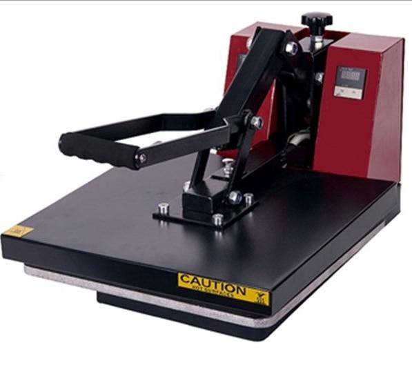 Руководство тепла пресс машина для продажи майка тепла пресс машина 40X50 СМ