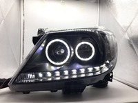 Free Shipping For China VLAND Factory For Toyota Revo Headlight Angel Eyes 2008 2012 Hilux LED