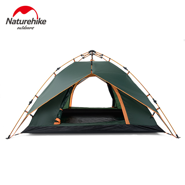 NH high quality 3-4 person double layers four-season quick automatic opening c&ing  sc 1 st  AliExpress.com & NH high quality 3 4 person double layers four season quick ...