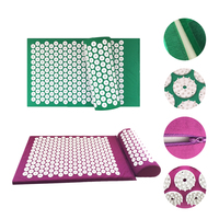 Massage Acupuncture Cushion Shakti Mat And Pillow For Sleep Body Massager Pain Relief Abs Acupuncture Spike
