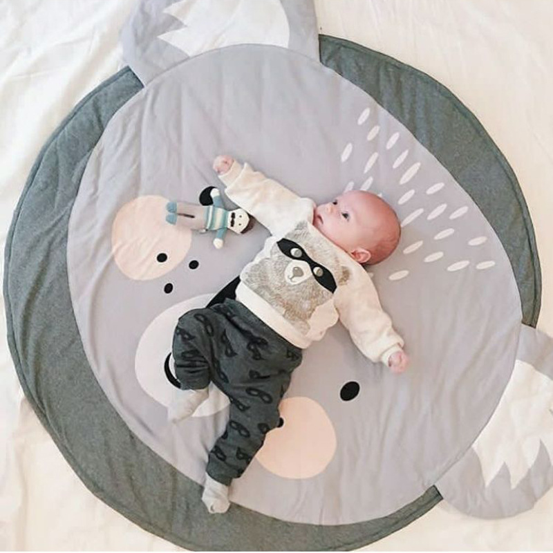 85cm New Koala Cartoon newborn infant soft sleeping mat play game rug cotton baby climbing carpet kids blanket Christmas gift