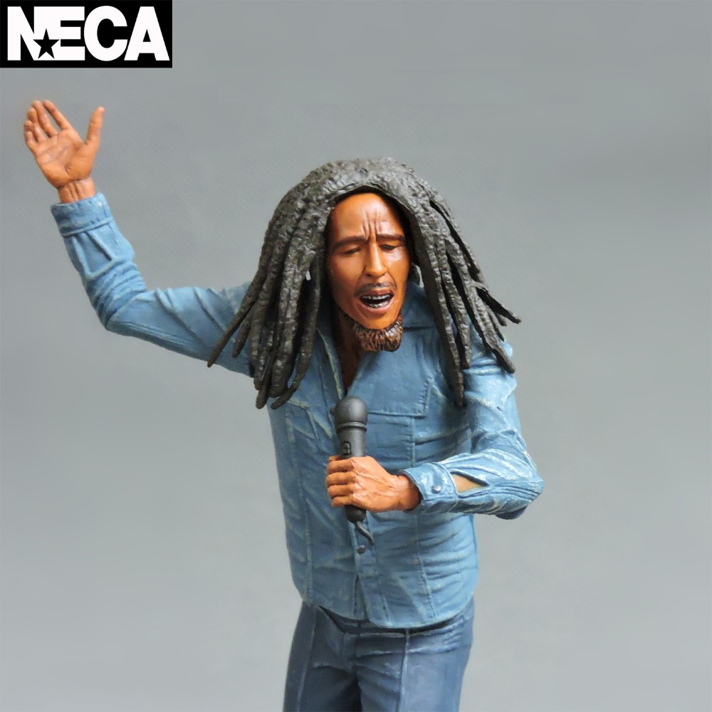 NECA Wailing Wailers Reggae BobMarley Doll model Catch A Fire Jamaica singer 17cm боб марли the wailers bob marley and the wailers catch a fire lp