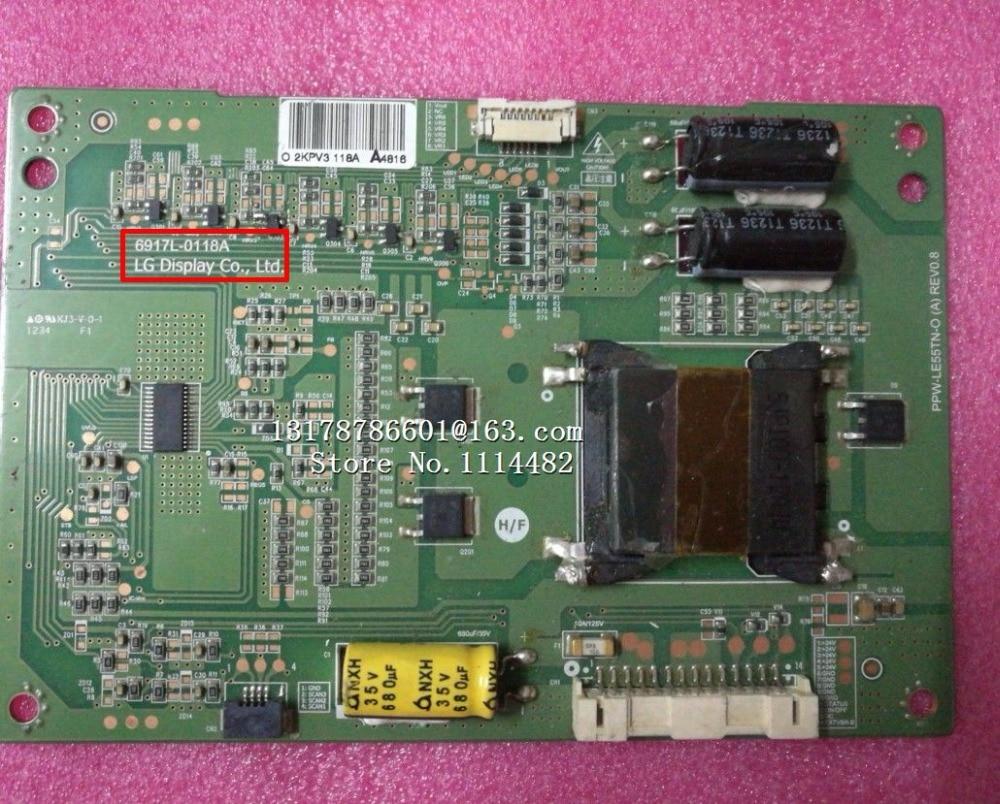 6917L-0118A Logic board good test Original  Good Constant current board for 55inch 6917L-0118A B PPW-LE55TN-O REV0.2 LC550EUN6917L-0118A Logic board good test Original  Good Constant current board for 55inch 6917L-0118A B PPW-LE55TN-O REV0.2 LC550EUN