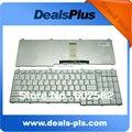 Teclado Del ordenador portátil Para TOSHIBA P200 P205 X205 EE.UU. silver Keyboard
