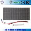 Smd exibição módulo RGB full color PH5 / P5 32 * 16 cm tela outdoor LED movendo placa do sinal digital de painel