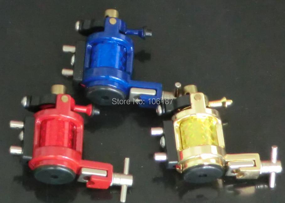 Оптом - Новый синий / красный / желтый татуировки роторный пулемет машины Liner Shader Профессиональный роторный татуировки пулемет питания