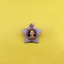 Суворов, значок советской армии России, военный орден на булавке, медаль СССР, копия Красной Звезды, брошь для мужчин, патриот, подарок, Винтаж