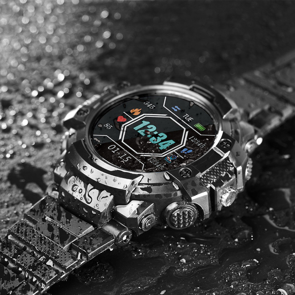 Watch-Light Voice-Call Smart-Sms Sports Waterproof Disc Blood-Pressure-Heart-Rate-Monitor