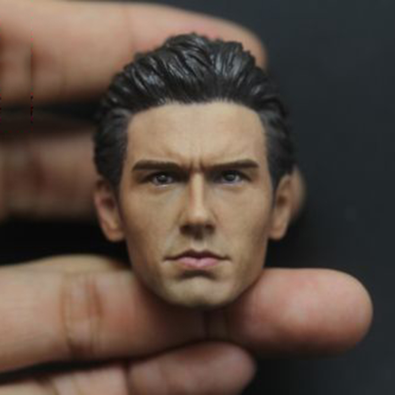 1:6 Scale Accessory Male Head Sculpt Spider-Man Harry Osborn James Franco Head Carving for 12 inches Action Figure body 1 6 stairs batman robin detective blake joseph gordon blake head sculpt carving for hot toys body for 12phicen action figure