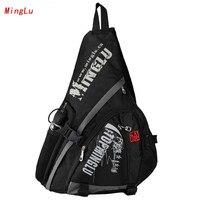 MingLu Luxury Chest Bag Fashion Men And Women Single Shoulder Bag Waterproof Oxford Handbags Water Shape