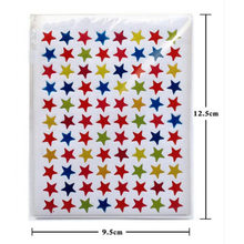 10/sheet Star Shape Stickers Cute Teacher Reward Sticker Gift Kindergarten Kid Hand Body Sticker Toys Labels For School Children(China)