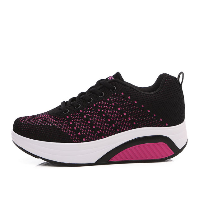 fdf8c3c80c4c Kezrea Dropshipping Shops Sneakers Women s Knitted Sports Life Walking  Shoes Leisure Breathable Light Running Sports Shoes