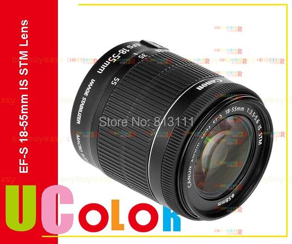 Galleria fotografica Original nouveau <font><b>Canon</b></font> ef - s 18 - 55 mm f3.5 - 5.6 IS STM Lens - Bulk Pack