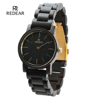 reloj mujer 2019 New Brand REDEAR Women's Unique Designer Wooden Watches with Wooden Band Women Wristwatch relogio feminino