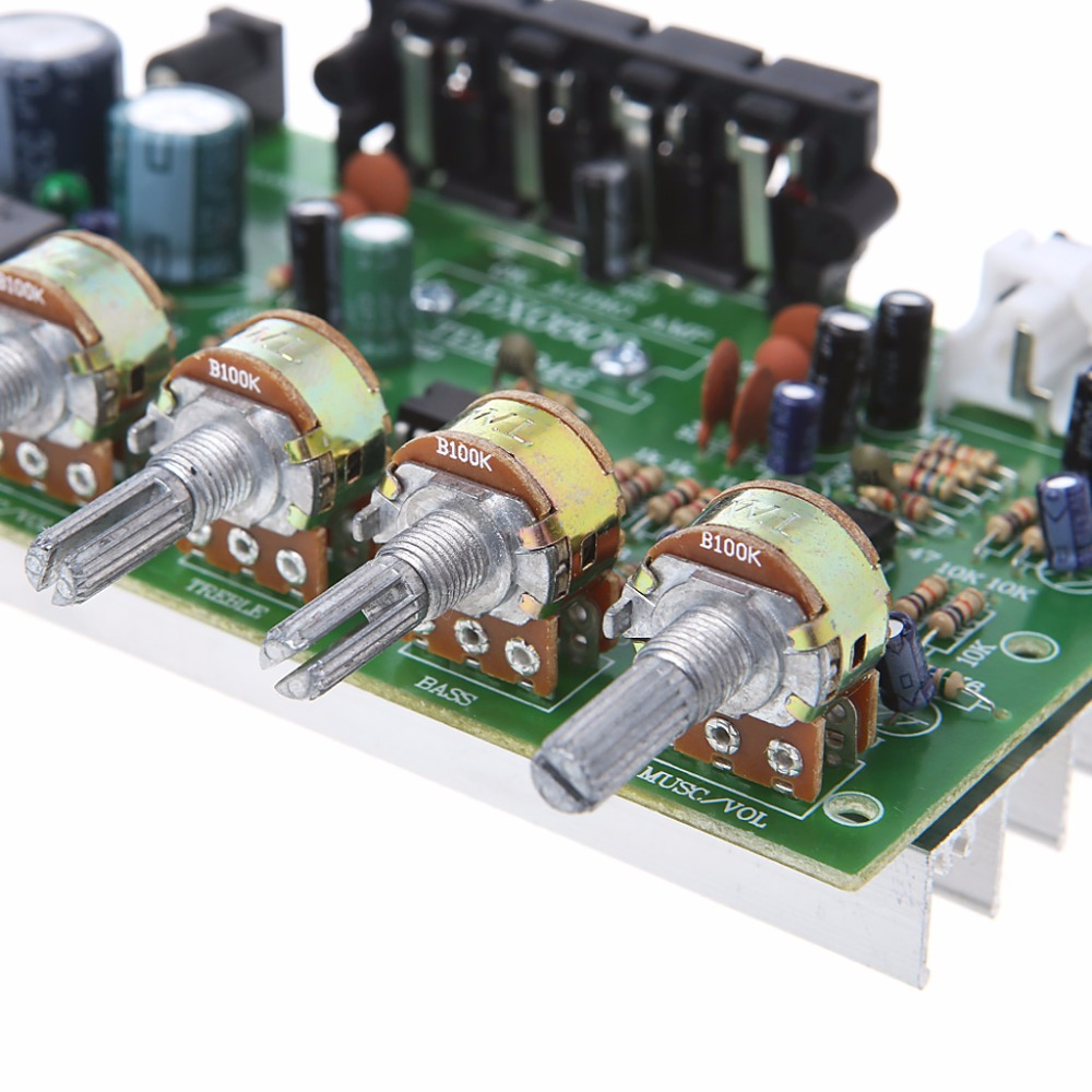 Ootdty 12v 60w Stereo Digital Audio Power Amplifier Board Electronic Diy Circuit Module In From Consumer Electronics On Alibaba