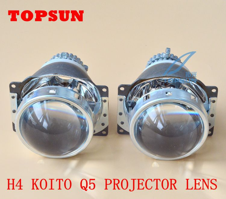 GZTOPHID Car Light Parts HID 3.0 inch BI-XENON Q5 HID Projector Lens D2R D2S D2H XENON BULB With High Brightness 2 5 mini bi xenon projector lens can use with d2s d2h hid xenon bulb for h4 car headlamp easy install