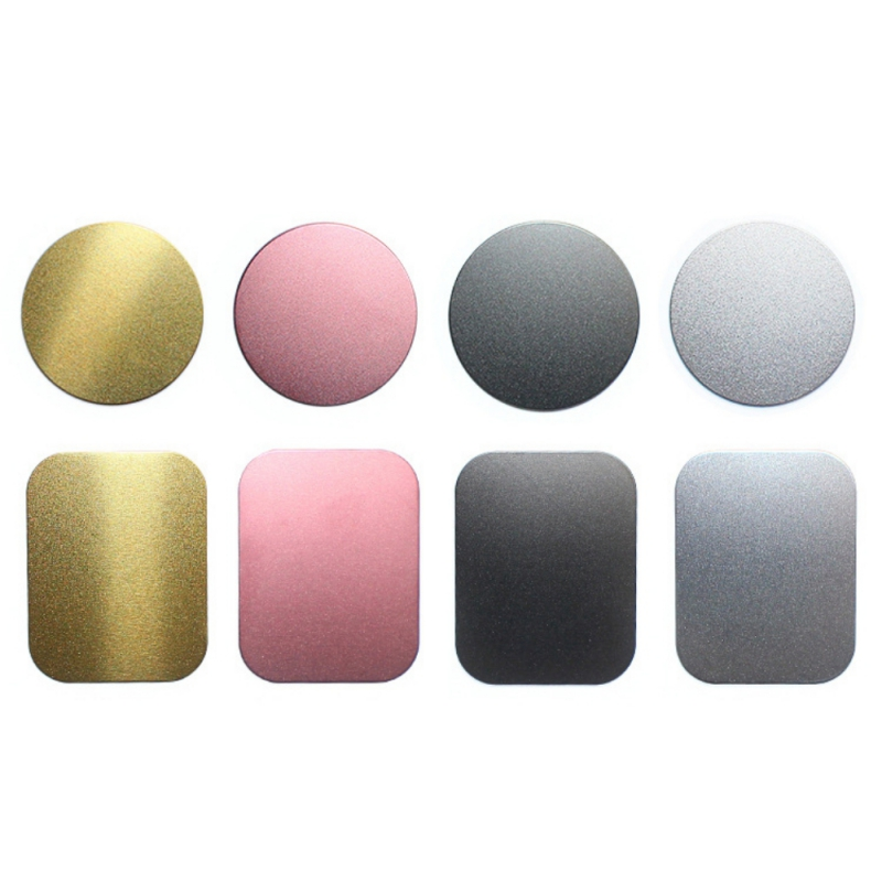 Ultra-thin Phone Stickers Car Dashboard Phone Holder Mounting Bracket Metal Plate for Phone Holder Round Iron Sheets AdhesiveUltra-thin Phone Stickers Car Dashboard Phone Holder Mounting Bracket Metal Plate for Phone Holder Round Iron Sheets Adhesive